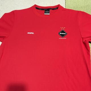 エフシーアールビー(F.C.R.B.)のFCRB SOPH 赤(Tシャツ/カットソー(半袖/袖なし))