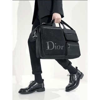 DIOR HOMME - Dior homme 18aw メンズショルダーバッグ ボストン