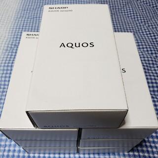 アンドロイド(ANDROID)のAQUOS sense5G  simフリー 7台セット★SH-M17 SHARP(スマートフォン本体)