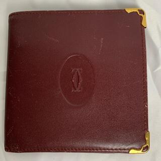カルティエ(Cartier)のカルティエ 折りたたみ財布 レディース(折り財布)