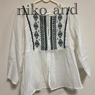 niko and... - チュニック Mサイズ 新品 niko and