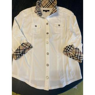 バーバリー(BURBERRY)のBURBERRY レディースジャケット 袖口チェック(テーラードジャケット)