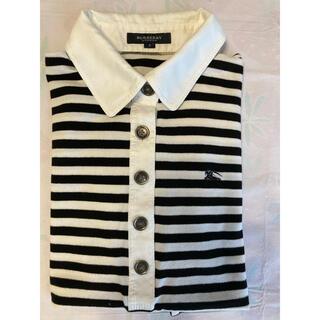 バーバリー(BURBERRY)のBURBERRY レディースボーダーポロシャツ (ポロシャツ)