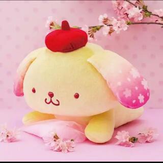 ポムポムプリン - ポムポムプリン 桜満開! BIG ぬいぐるみ
