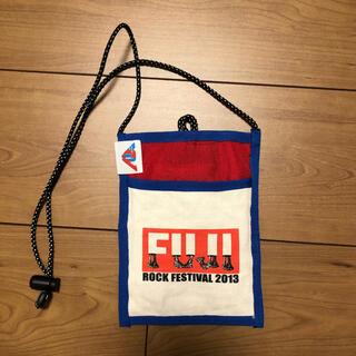 BEAMS - BEAMS × FUJI ROCK FESTIVAL 2013 ネックポーチ