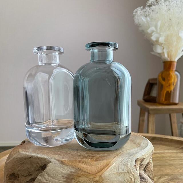 新品未使用 花瓶2個セット|ガラス|フラワーベース|一輪挿し インテリア/住まい/日用品のインテリア小物(花瓶)の商品写真
