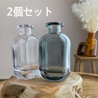 【新品未使用】フラワーベース2個セット|花瓶|花器|ガラス|一輪挿し