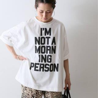 フレームワーク(FRAMeWORK)の今季完売 BIGロゴT(Tシャツ/カットソー(半袖/袖なし))