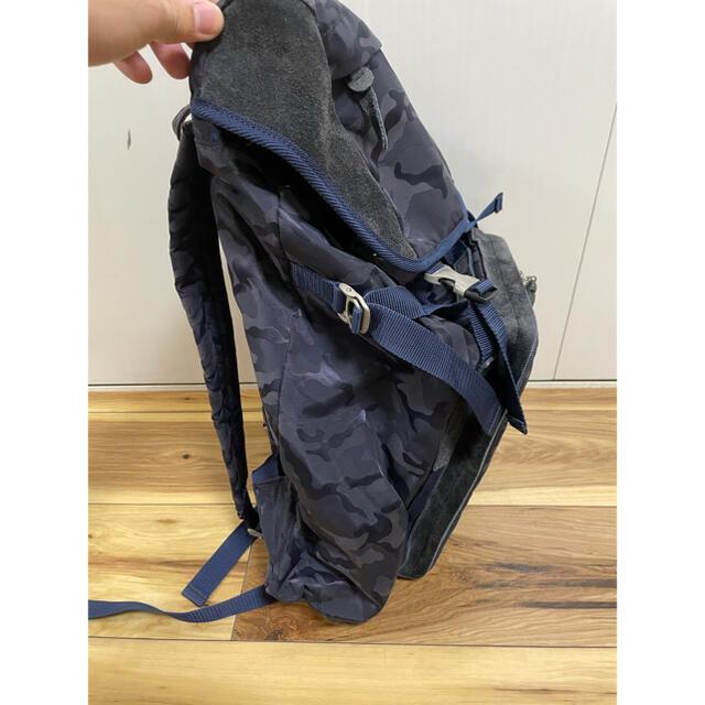 master-piece(マスターピース)のmaster-piece マスターピース 限定 バックパック 迷彩 ネイビー メンズのバッグ(バッグパック/リュック)の商品写真