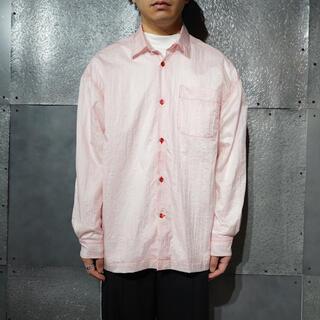マルタンマルジェラ(Maison Martin Margiela)のROLD SKOV ナイロンベールシャツ 21ss(シャツ)