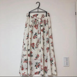 オリーブデオリーブ(OLIVEdesOLIVE)のオリーブデオリーブ *花柄ロングスカート(ロングスカート)