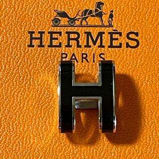 Hermes - エルメス HERMES ポップアッシュ ポップH ネックレス チャーム 黒