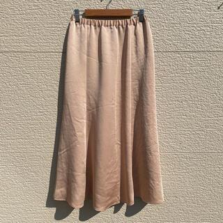 スピックアンドスパン(Spick and Span)のSPICK AND SPAN スカート オレンジ 36(ロングスカート)