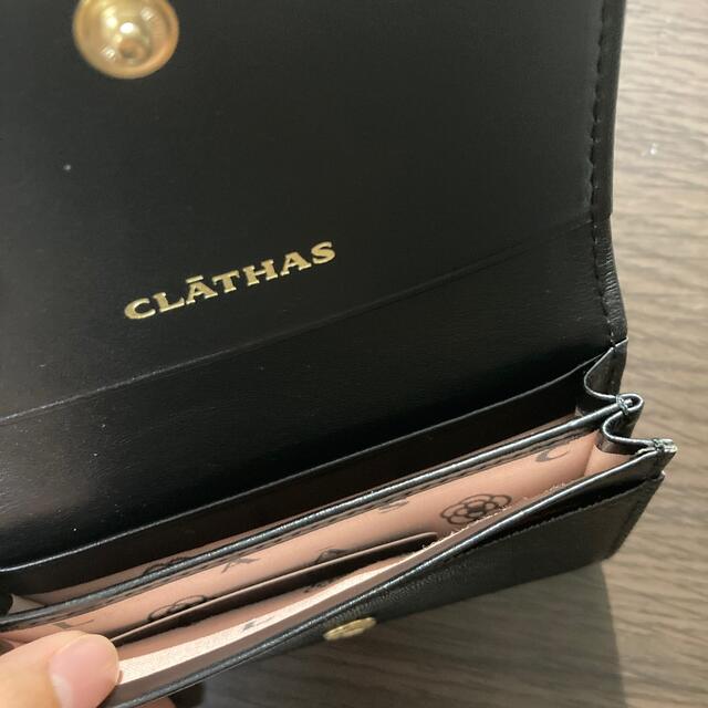 CLATHAS(クレイサス)の【あみ様専用】CLATHS 名刺入れ/カード入れ (ブラック) レディースのファッション小物(名刺入れ/定期入れ)の商品写真