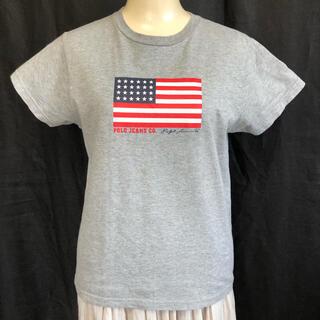 POLO RALPH LAUREN - 《美品》ラルフローレン  Tシャツ Lサイズ USA 国旗 レディース