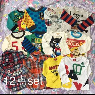 ビッツ(Bit'z)の男の子★トップス★12点セット(Tシャツ)