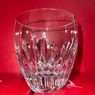Baccarat - バカラ baccara マッセナ ロックグラス Mサイズ 未使用