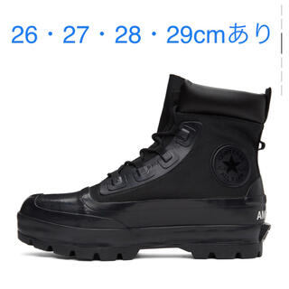 CONVERSE - Converse×AMBUSH Rubber Black Boots