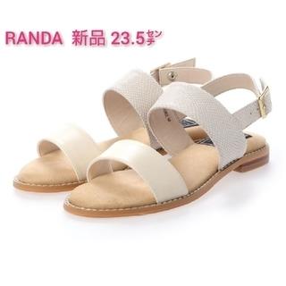 RANDA - 《新品》ランダ クッションフラットサンダル