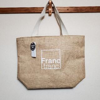フランフラン(Francfranc)の新品 Francfranc ジュートロゴ保冷バッグ(トートバッグ)