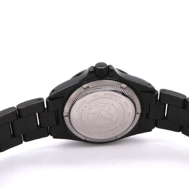 agete(アガット)の【agete】アガット 時計 'クロノグラフ' オールブラックデザイン☆極美品☆ レディースのファッション小物(腕時計)の商品写真