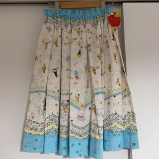 フランシュリッペ(franche lippee)のフランシュリッペ アイスクリーム柄 スカート(ひざ丈スカート)