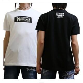 ノートン(Norton)のSALE!!7549円→3980円新品NORTONノートンメタルロゴT(Tシャツ/カットソー(半袖/袖なし))