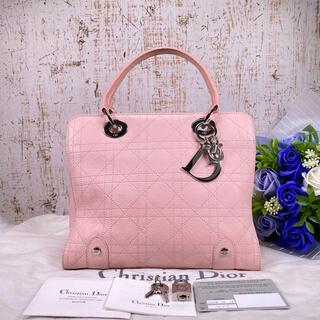 Christian Dior - ✨美品✨Christian Dior ディオール レディディオール ハンドバッグ