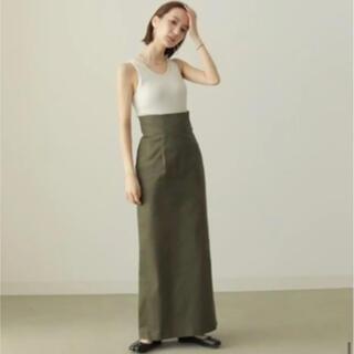 トゥデイフル(TODAYFUL)のlouren highwaist pencil skirt タイトロングスカート(ロングスカート)