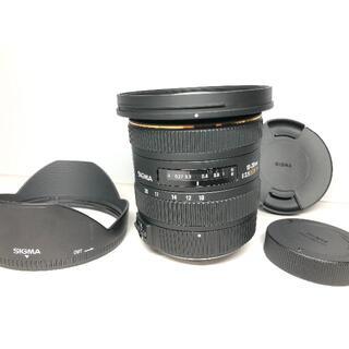 シグマ(SIGMA)の極上品 シグマ 10-20mm F3.5 EX DC HSM ペンタックス(レンズ(ズーム))