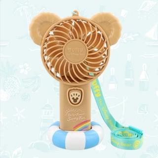 ダッフィー(ダッフィー)のディズニー ダッフィー サニーファン2021 ファン 扇風機(扇風機)