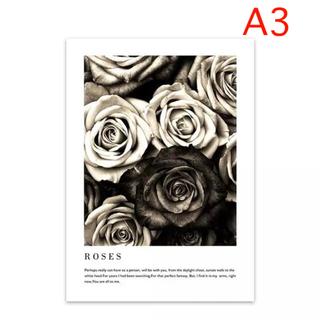 残り2点☆A3 ROSES コットンキャンバス ポスター(アート/写真)