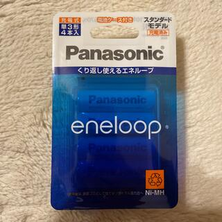 パナソニック(Panasonic)のエネループ単3型 4個セット BK-3MCC/4C(その他)