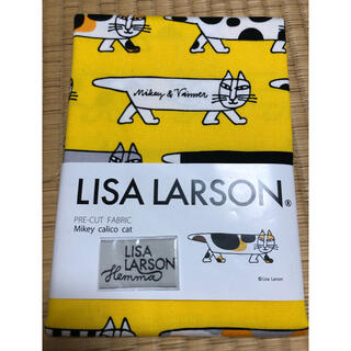 リサラーソン(Lisa Larson)のリサラーソン マイキー 生地 総柄 タグ付き(生地/糸)