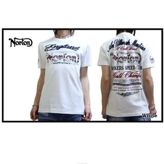 ノートン(Norton)のSALE!! 7549円→3980円新品NORTONノートン刺繍T(Tシャツ/カットソー(半袖/袖なし))
