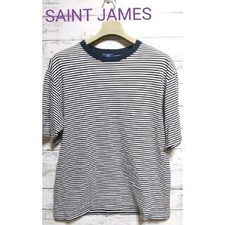 SAINT JAMES - 【美品・ヴィンテージ】SAINT JAMES 半T ボーダー 80.90年代