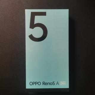 ANDROID - OPPO Reno5 A G5 6/128GB デュアルSIM スマホ