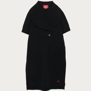 Vivienne Westwood - Vivienne Westwood 新品 ラブフリル ポロTシャツ ワンピース