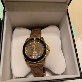 グッチ(Gucci)のGUCCI✖️ドラえもん腕時計(腕時計(アナログ))