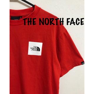 「人気ブランド」ザノースフェイス ボックスロゴ Tシャツ