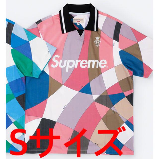 Supreme(シュプリーム)のSupreme Emilio Pucci Soccer Jersey ピンク S メンズのトップス(ポロシャツ)の商品写真