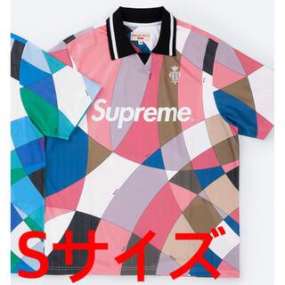 Supreme - Supreme Emilio Pucci Soccer Jersey ピンク S