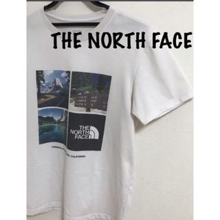 「人気ブランド」ザノースフェイス フォトプリントTシャツ