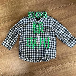 babyGAP - babyGAP チェックシャツ
