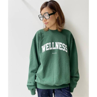 L'Appartement DEUXIEME CLASSE - 【SPORTY&RICH/スポーティアンドリッチ】LOGO SWEAT