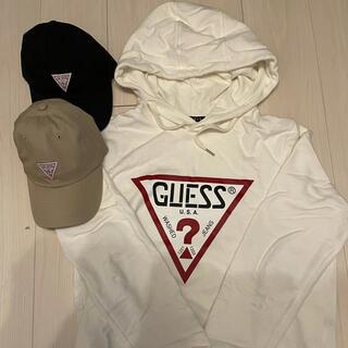 GUESS - GUESS パーカー & GUESS CAP 2個