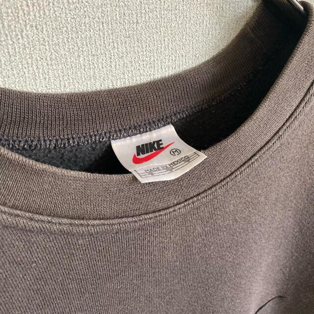 NIKE(ナイキ)の90s レアカラー NIKE ブラウン スウェット トラヴィススコット ゆるだぼ メンズのトップス(スウェット)の商品写真
