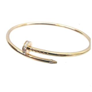 Cartier - カルティエ バングル ジュストアンクルブレスレット K18PG ダイヤモンド15