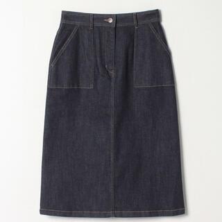 アニエスベー(agnes b.)のデニムタイトスカート(ひざ丈スカート)