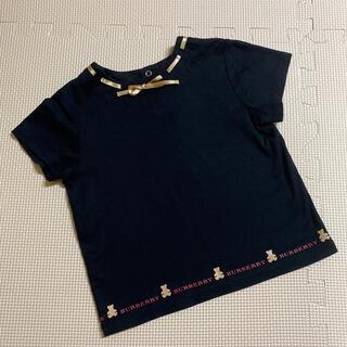 バーバリー(BURBERRY)の【美品】 バーバリー トップス 90(Tシャツ/カットソー)